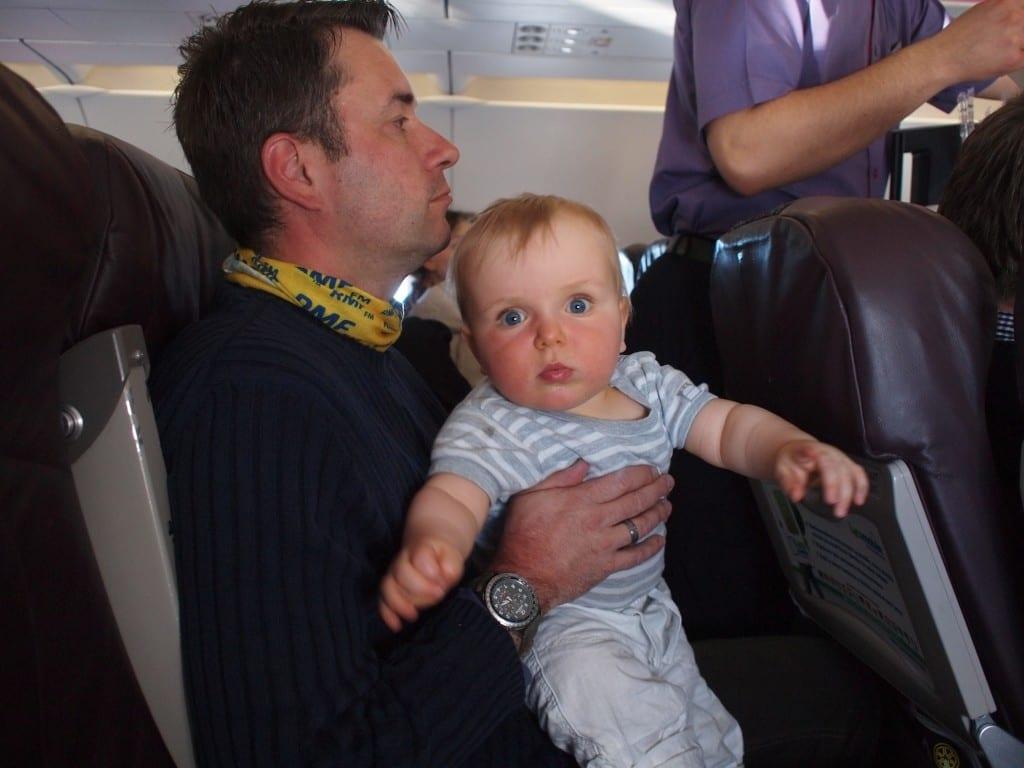 I pierwszy lot (do Gruzji).