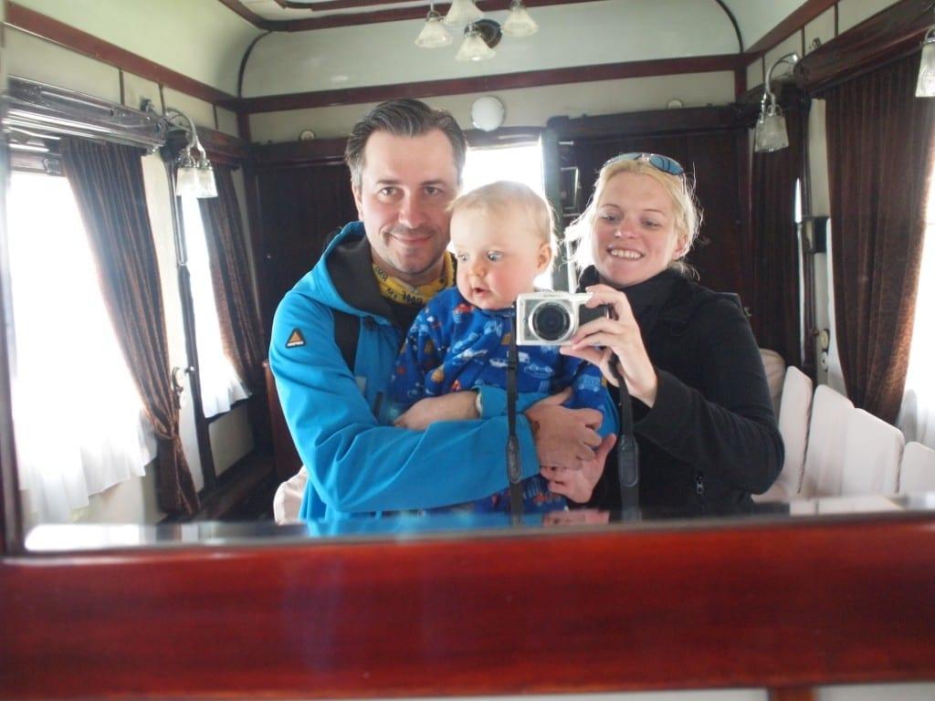 Był nawet w prywatnym pociągu Stalina.