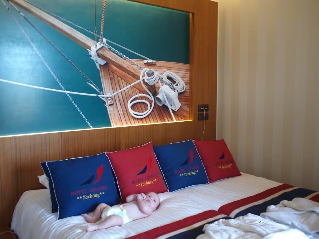 Szybko okazuje się, że z maleńkim dzieckiem można pojechać do dobrego hotelu...
