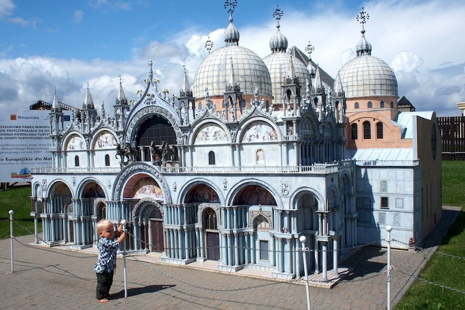 Chruczek na Piazza San Marco.