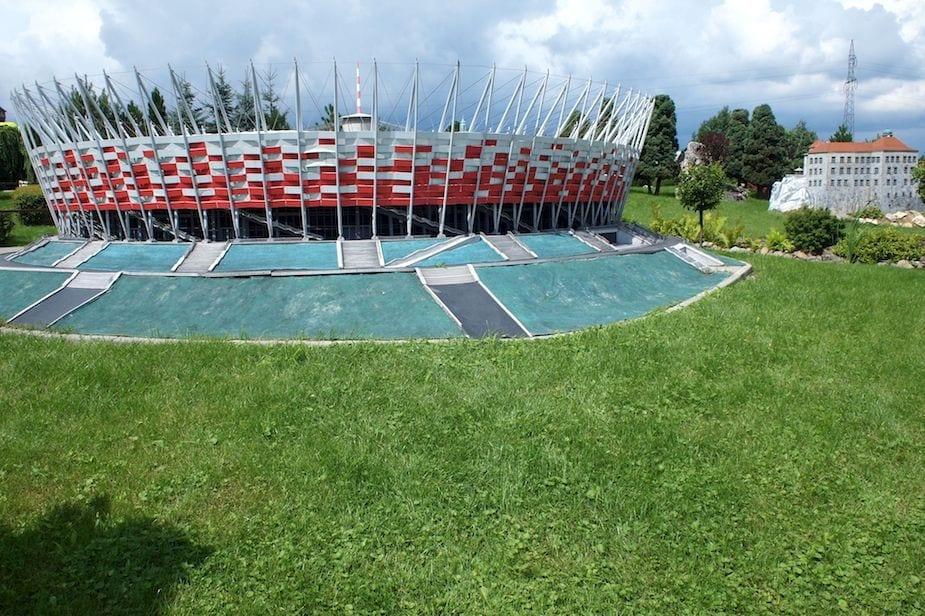 Pałacu kultury nie ma, ale stadion...