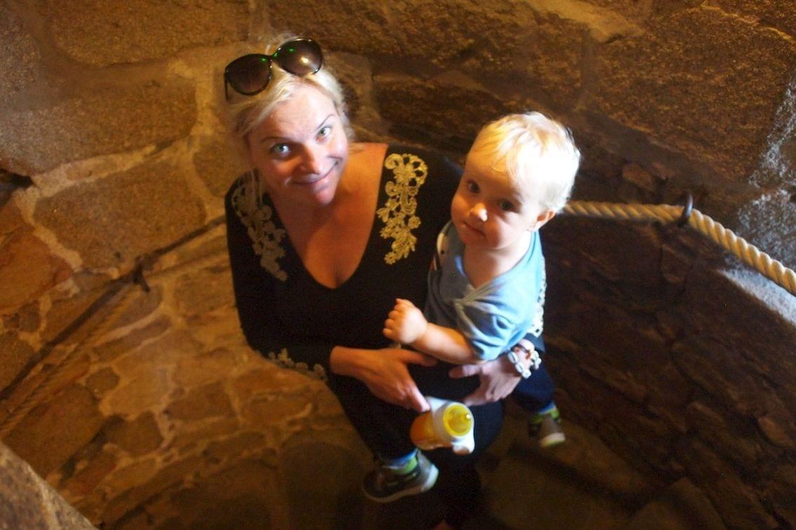 Tajemnicze przejścia i schody w Mont Saint Michel