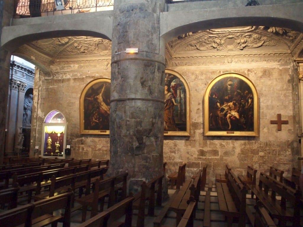"""Trzy """"Rubensy"""" w Notre Dame du Puy."""
