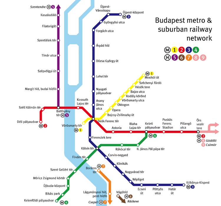 Budapeszt metro