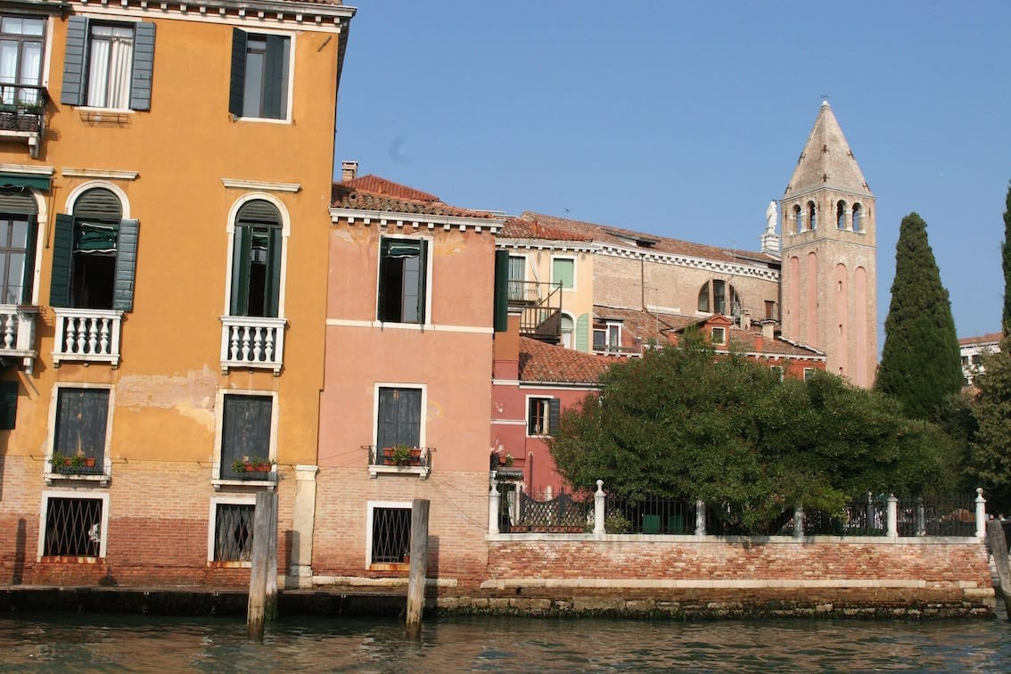 Widoki z Canale Grande.