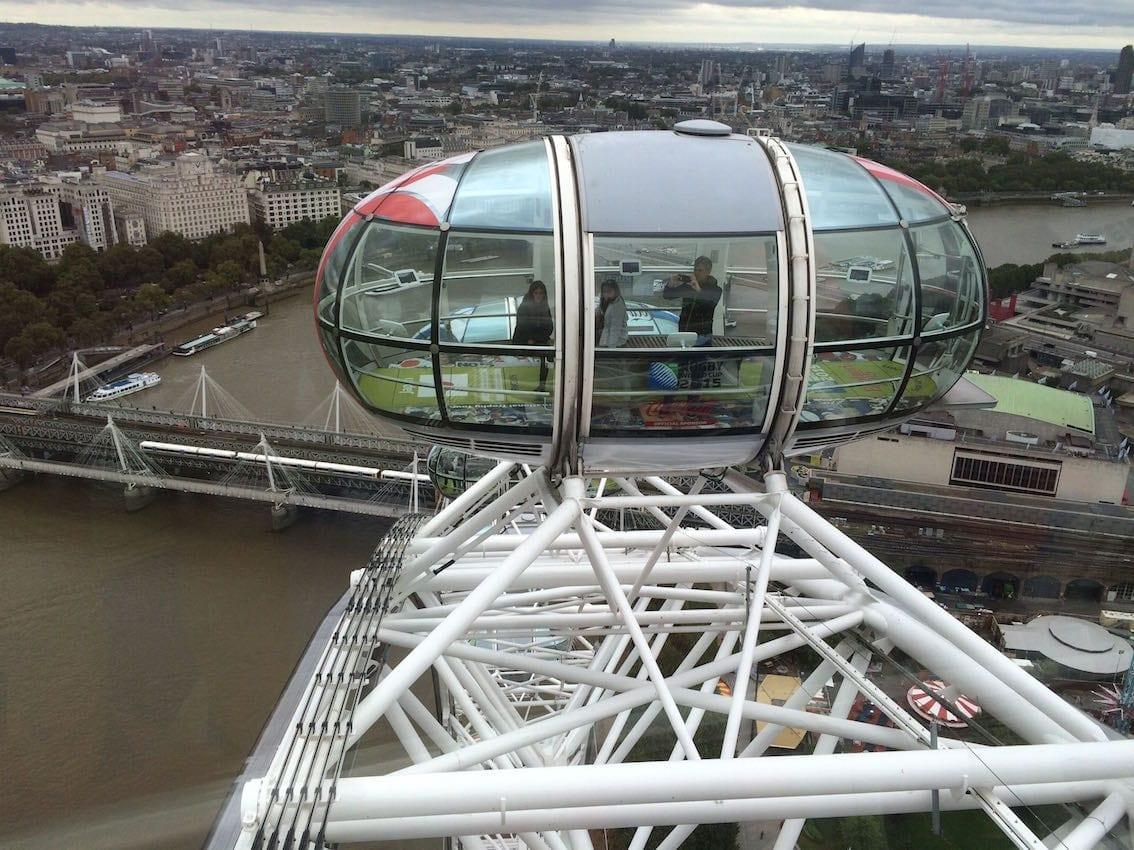 Wielkie Oko, czyli widok na Londyn z ponad 100 metrów