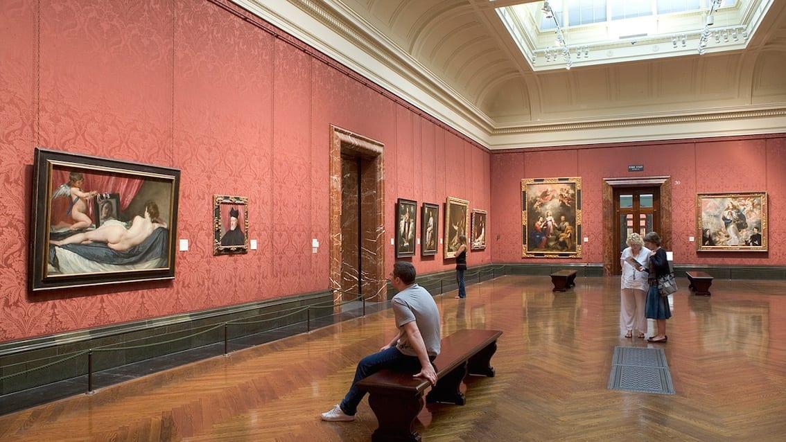National Gallery –Londyn może się poszczycić jednym z najlepiej wyposażonych w arcydzieła muzeów świata.