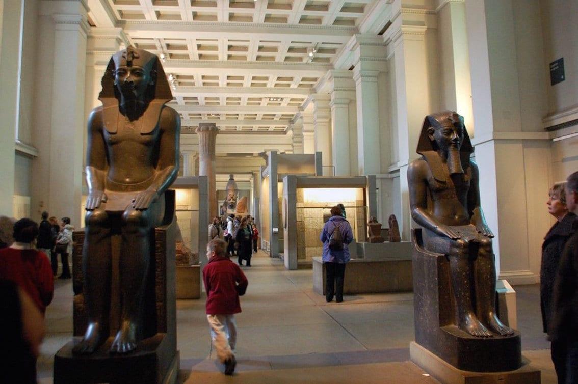 Londyn. Perłą w koronie muzeów świata jest British Museum.