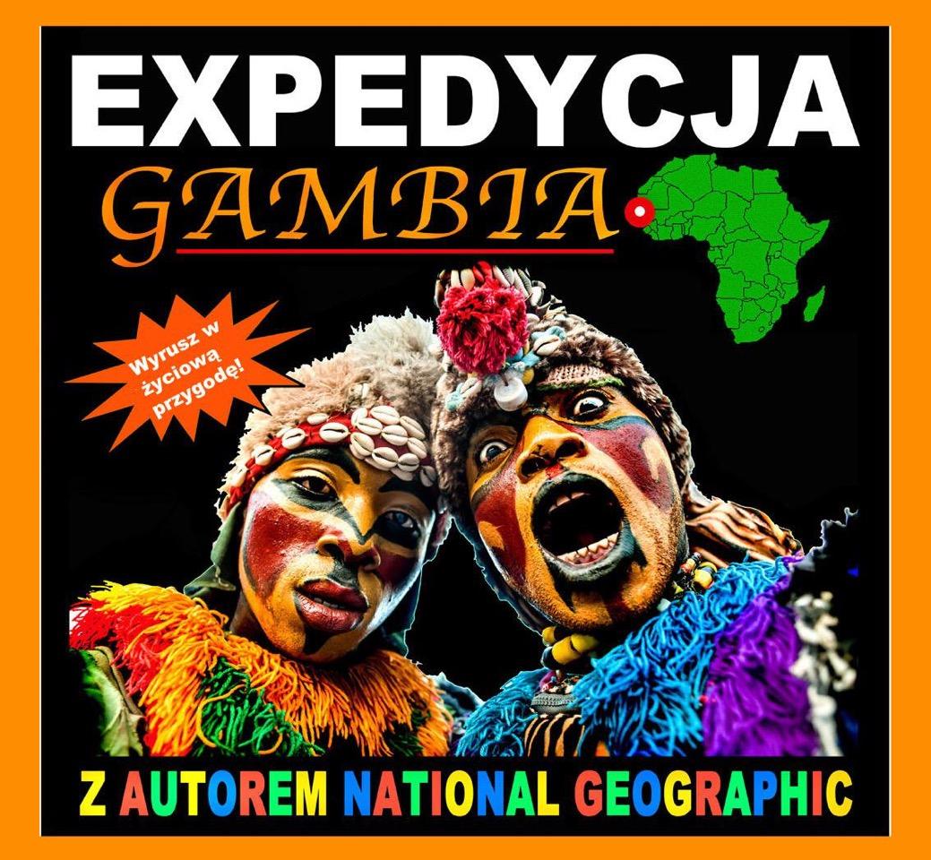 Jeśli Gambia to najlepiej z biurem Africa-Point Dominika Skurzaka