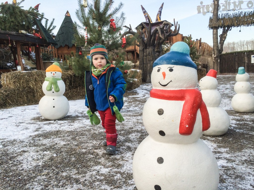 W wiosce św. Mikołaja.
