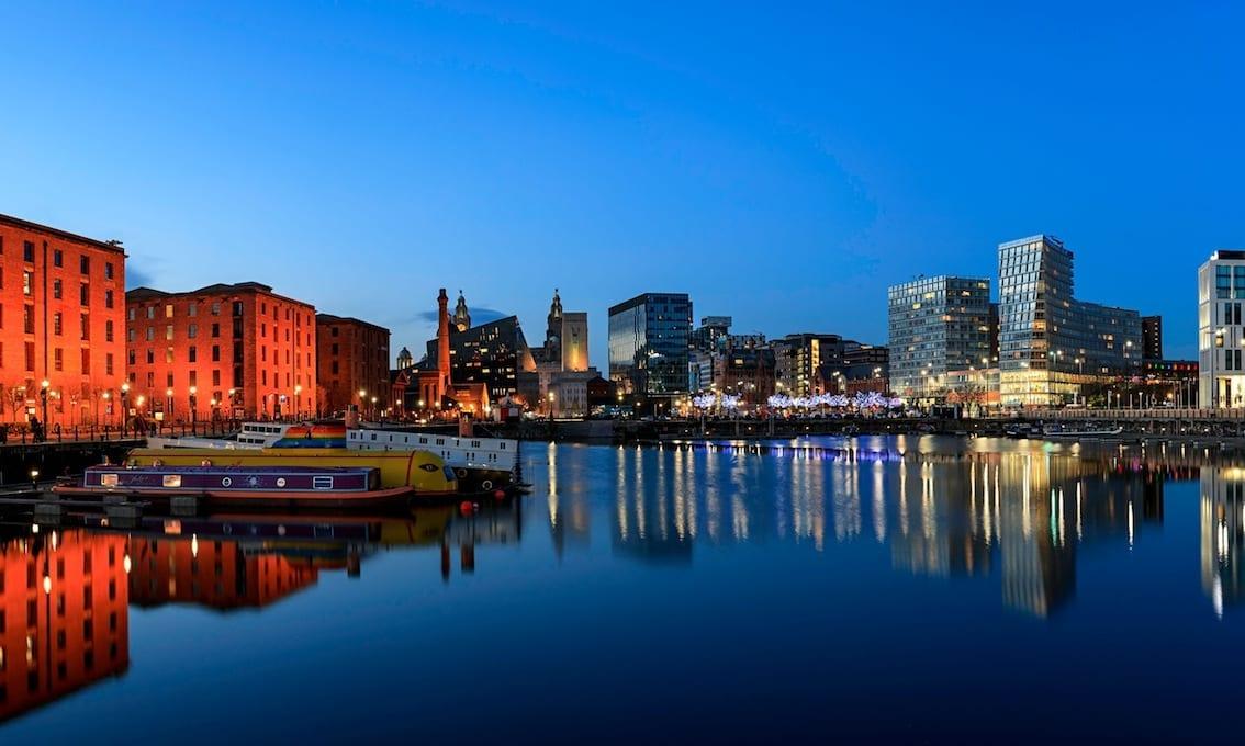 The Liverpool skyline