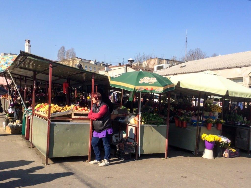 Bazarek wygląda tak samo jak we wszystkich słowiańskich krajach.