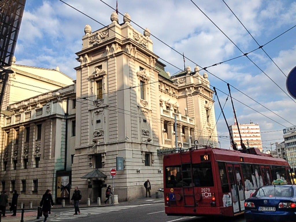 Teatr Narodowy w Belgradzie.