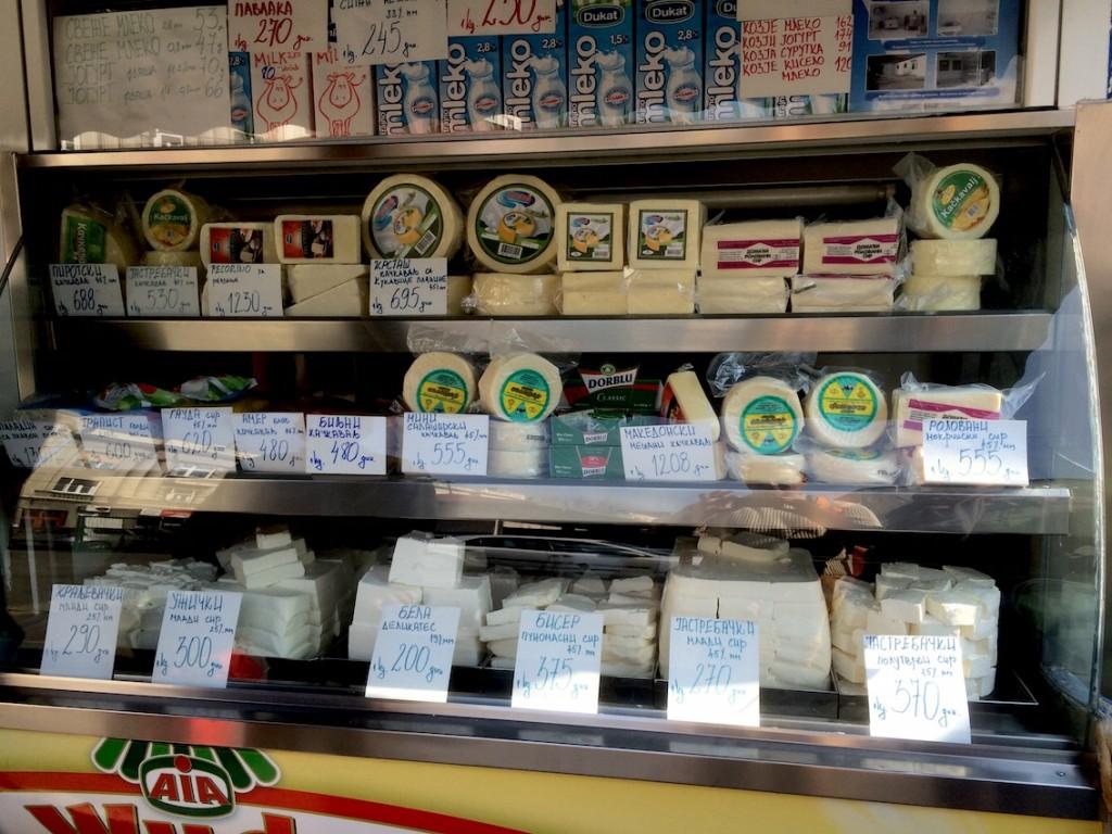 Nie mięso, a bałkańskie sery nas w Belgradzie zachwyciły
