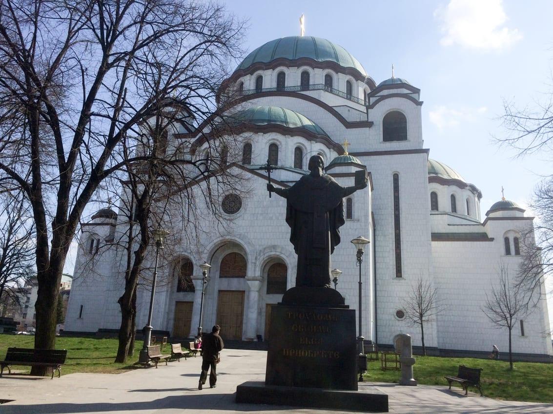 Największa cerkiew prawosławna na Bałkanach – św. Sawy.