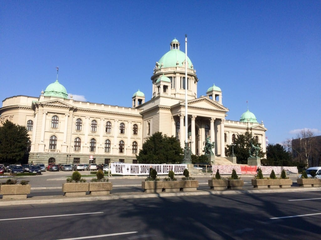 Architektura Belgradu.