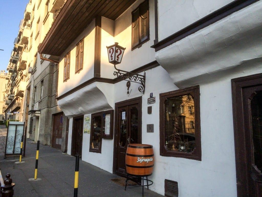 ? – najstarszy zajazd w Belgradzie.