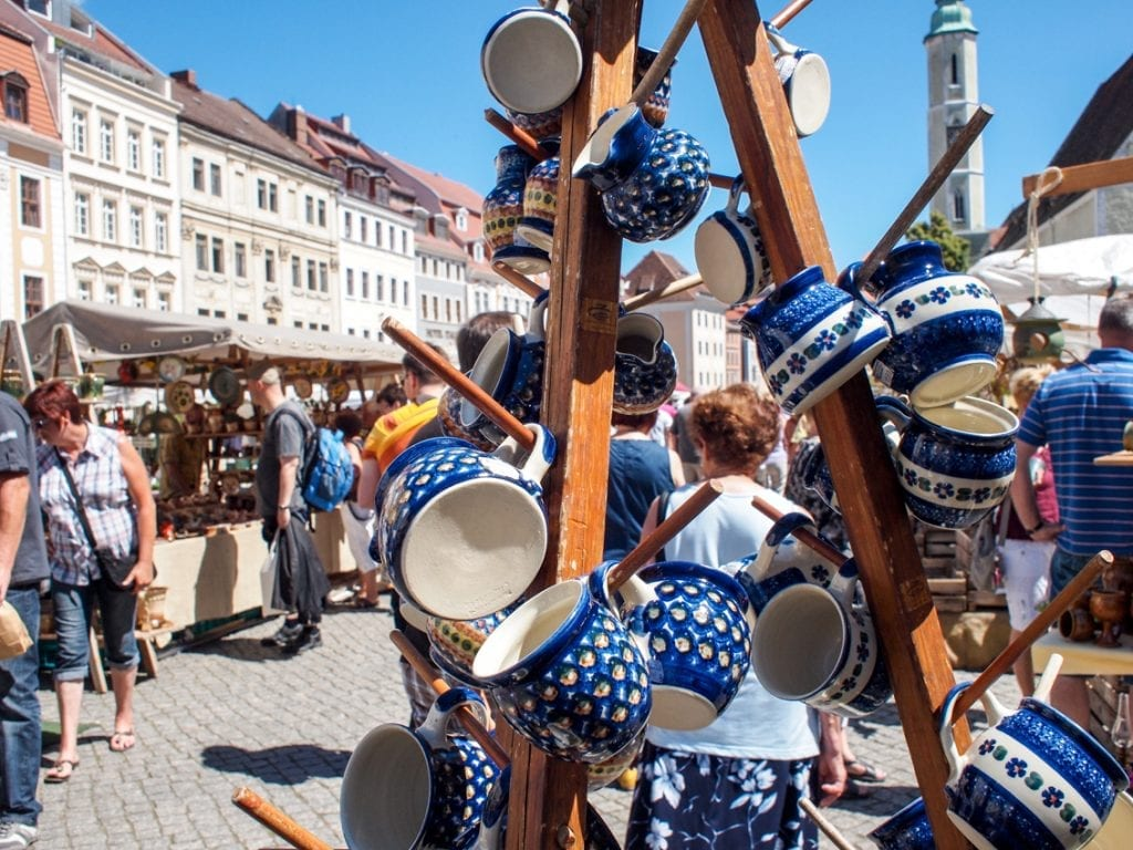 Niedzielny targ w Gorlitz