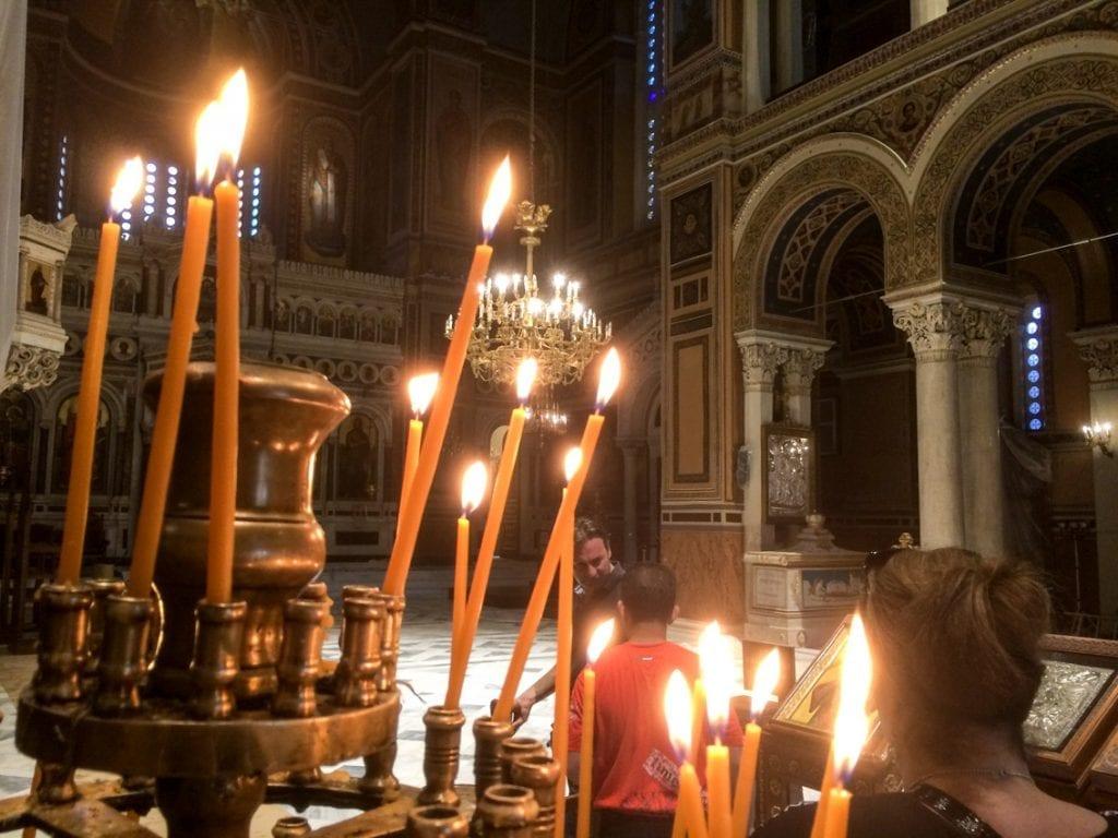 Wnętrze XIX-wiecznej katedry.