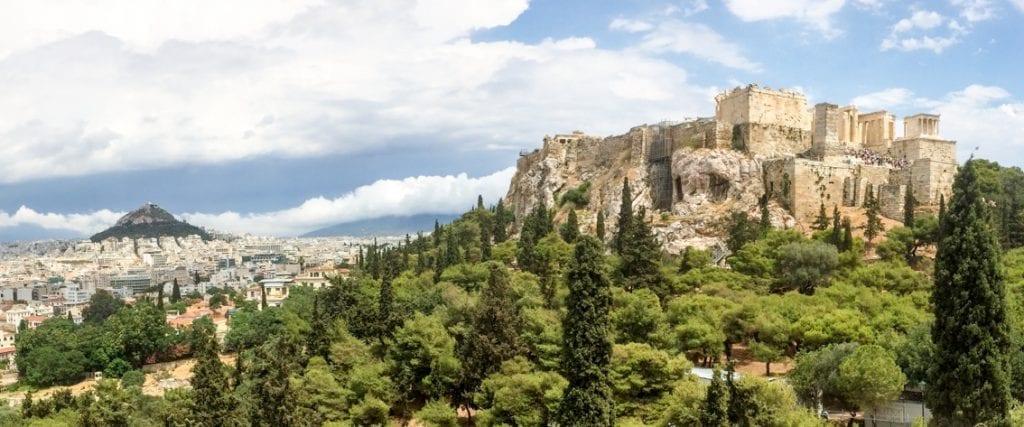 Akropol. Tu biło serce Aten przez całe tysiąclecia.