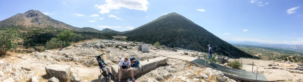 Piramida nad Mykenami. Czyli Grecja i Egipt w jednym.