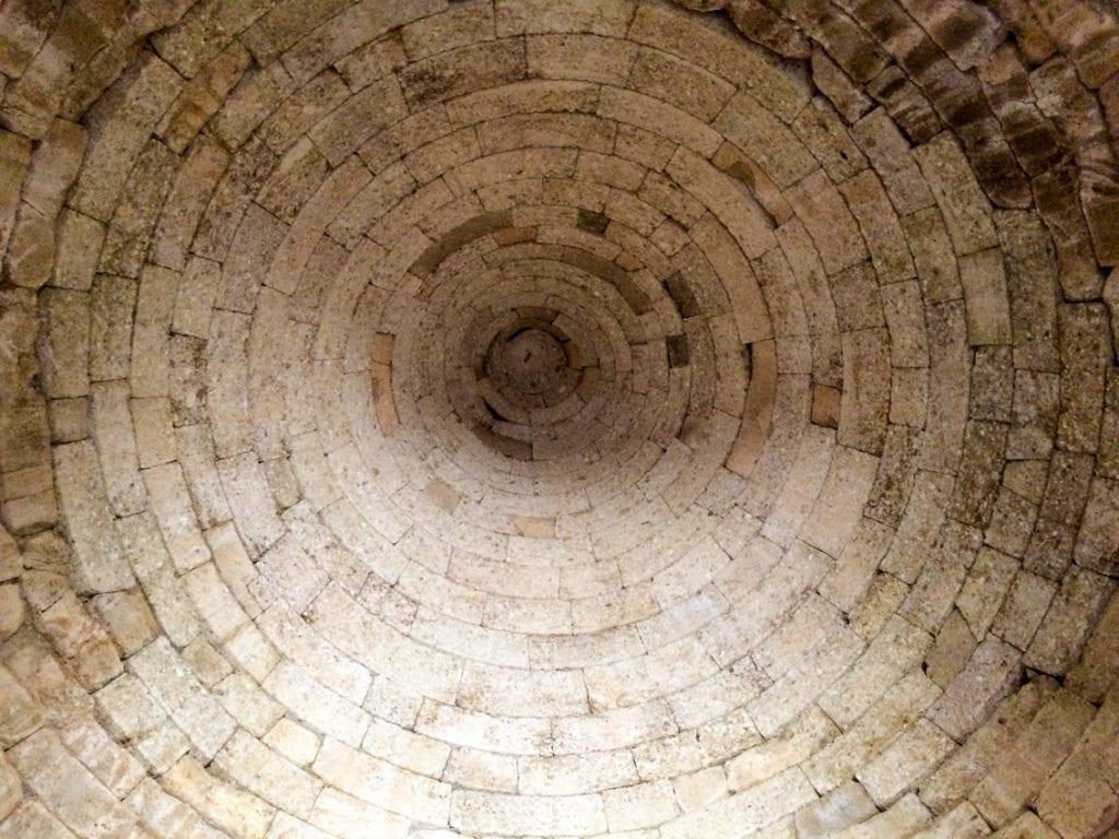 Wnętrze grobowca Klitajmestry.