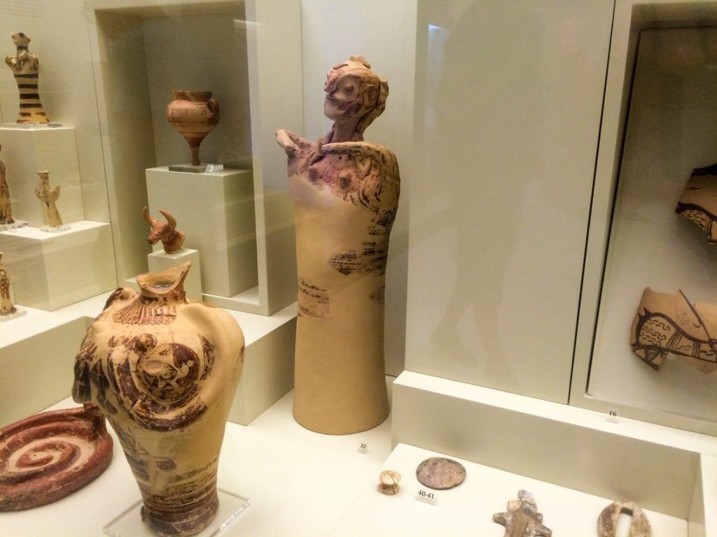 Muzeum archeologiczne w Mykenach.