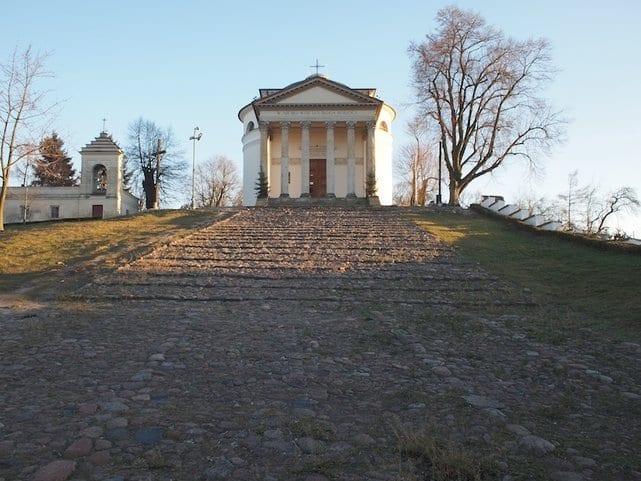 Kościół w Puławach na wzór rzymskiego Panteonu.