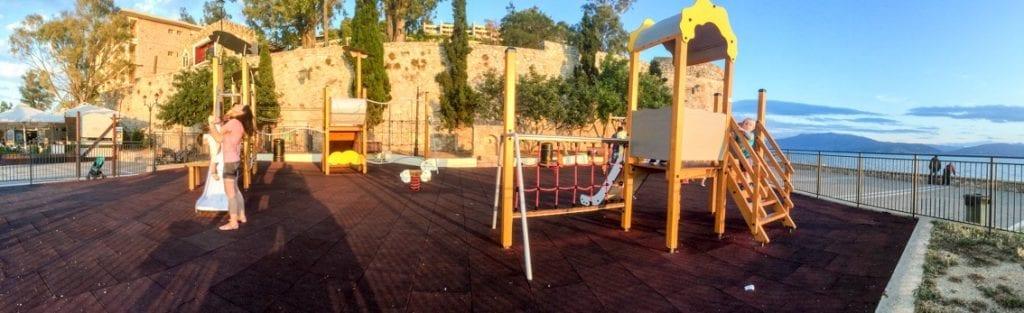 Taki plac zabaw tylko w Nafplio
