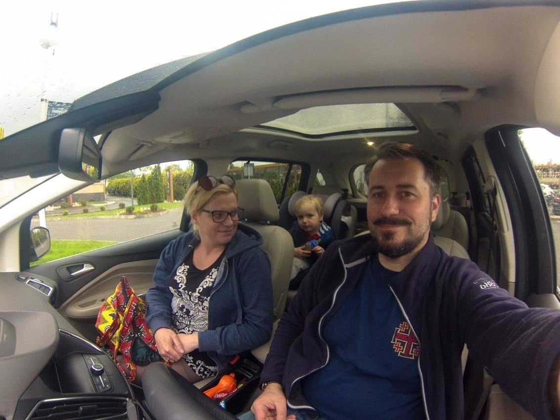 Rodzinna wycieczka Fordem Grand Tourneo Connect.