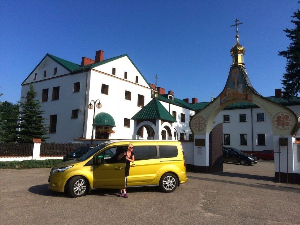 Klasztor prawosławny w Jabłecznej.