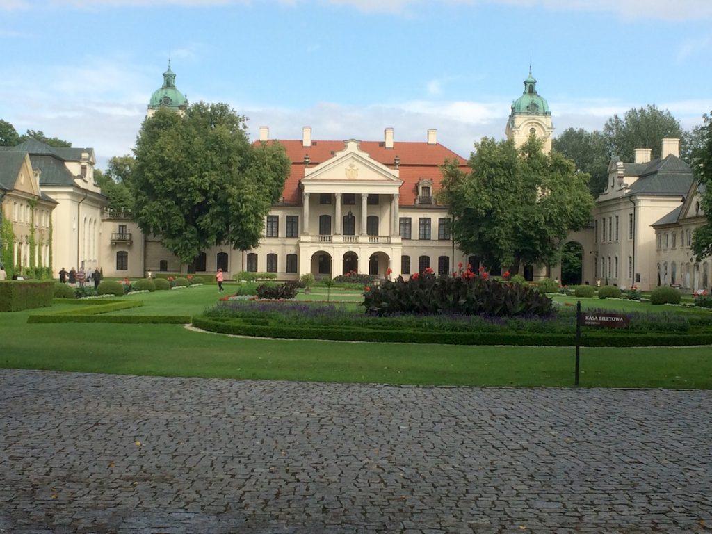 Pałac w Kozłówce. Rodzinna posiadłość Zamoyskich.
