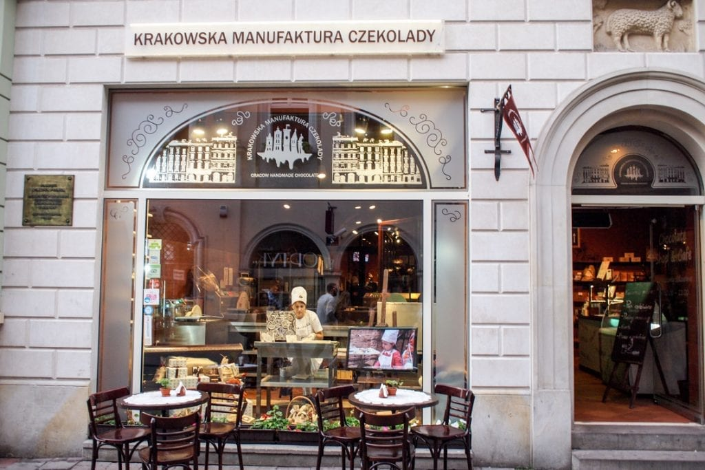 Krakowskie cukiernie to czysta poezja.