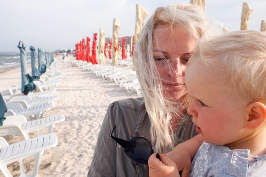 Plaża w Mamaia czeka na turystów.