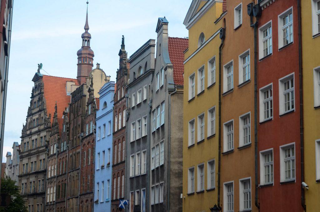 Zachwycająca architektura starego Gdańska
