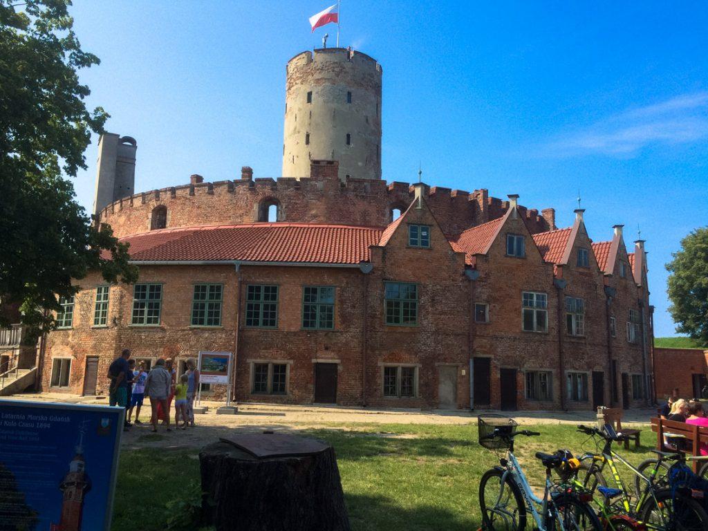 Twierdza Wisłoujście od 600 lat strzeże Gdańska przed inwazją z morza.