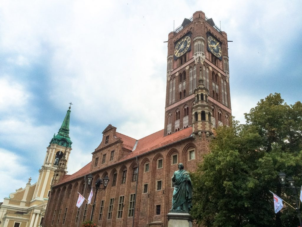 Gotycki ratusz wybudowano na polecenie Wielkiego Mistrza... Konrada Wallenroda.