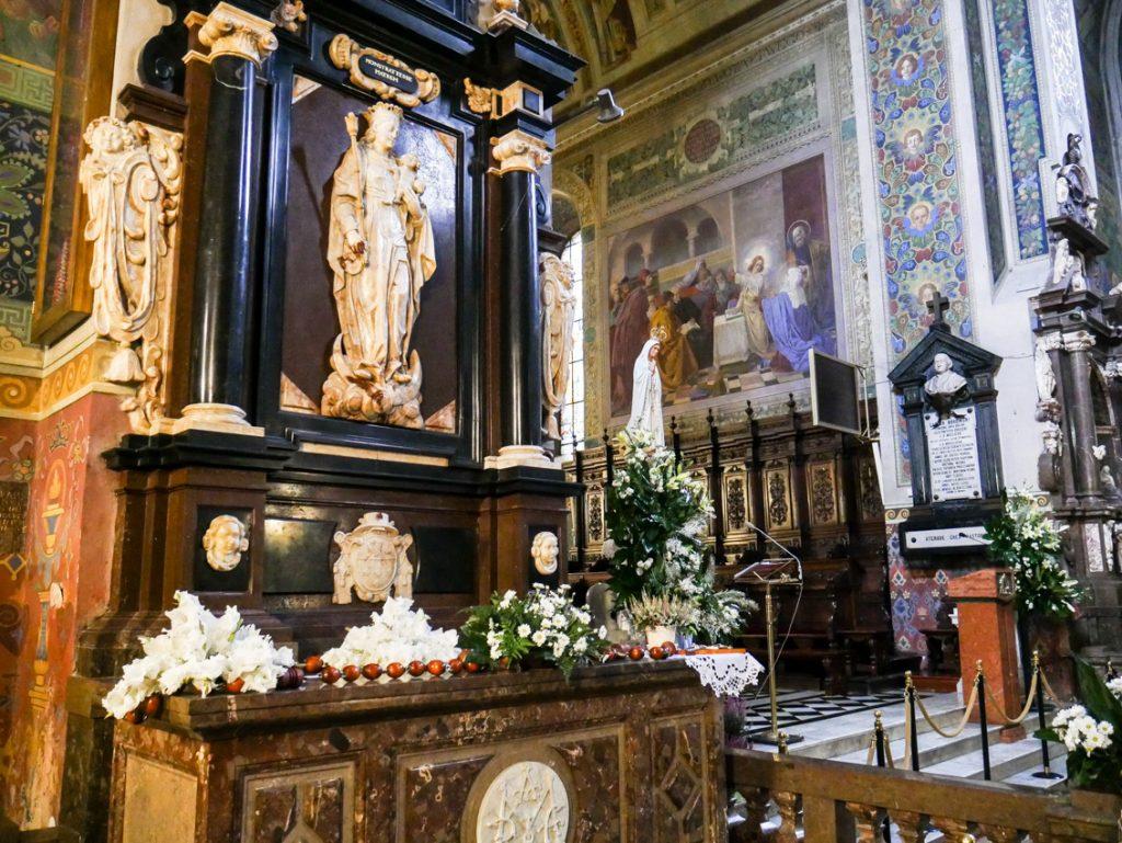 Wnętrze płockiej katedry.