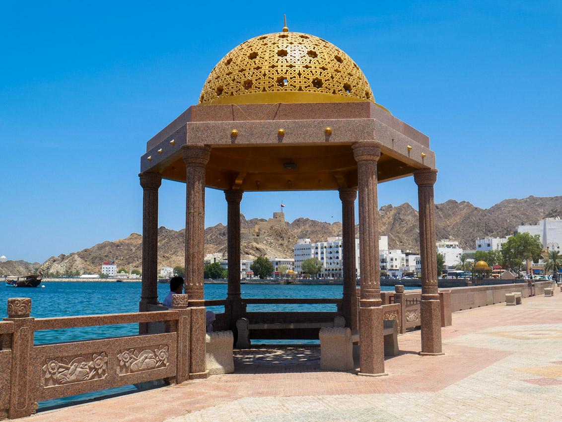 Piękno arabskiej architektury. Mutrach, Oman