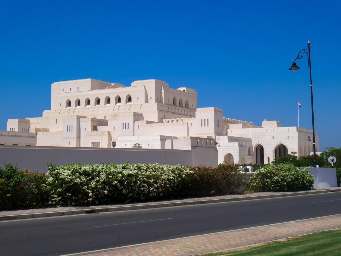 Oman ma swoją królewską operę, która jest w najgorętszym miejscu świata.