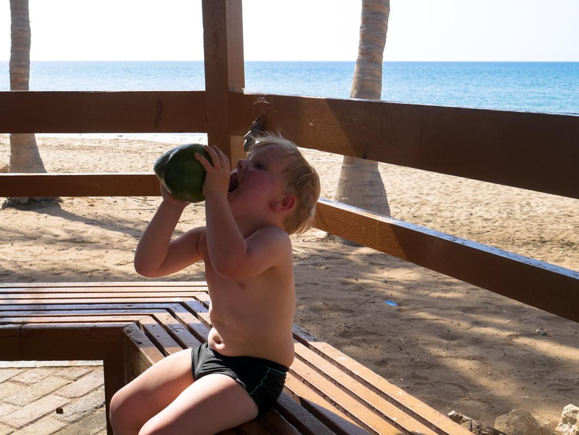 Mleczko kokosowe na upał. Jak Oman to plaża