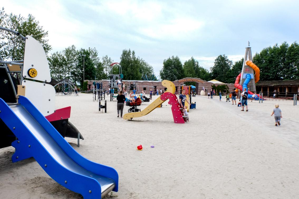 Plac zabaw dla dzieci w Jurapark Krasiejów