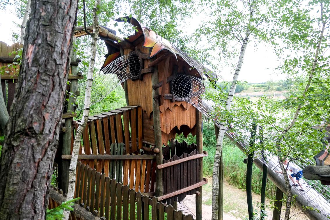 Zabawa na wysokości czyli park linowy w Jurapark Krasiejów