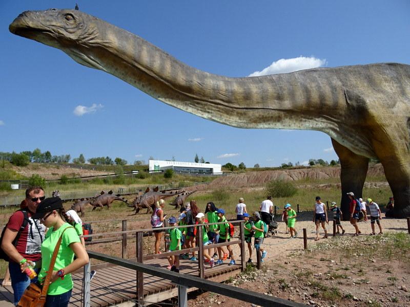 Giganty z prehistorii w Jurapark Krasiejów