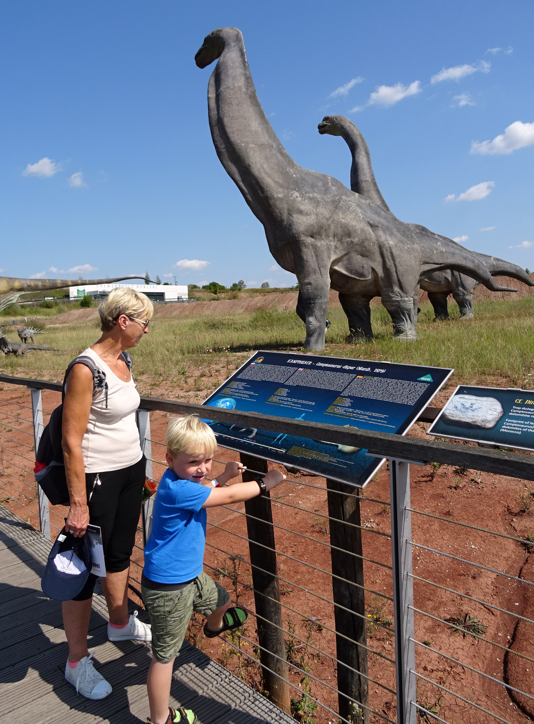 Ogromne prehistoryczne gady w Jurapark Krasiejów