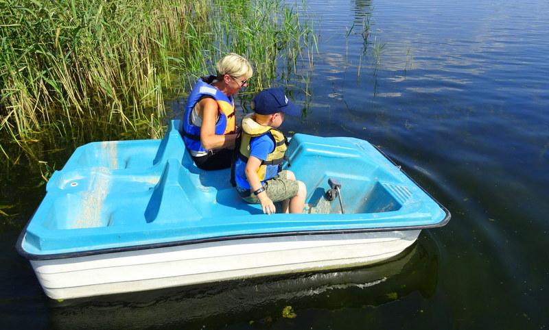 W Jurapark Krasiejów można też zrelaksować się nad wodą