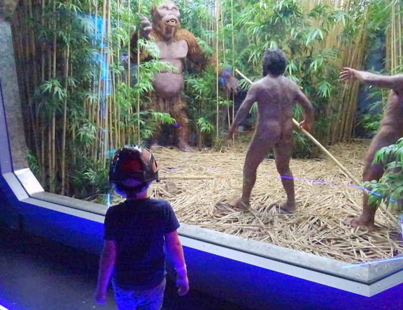 Park Nauki i Ewolucji Człowieka potrafi zaskoczyć małego podróżnika