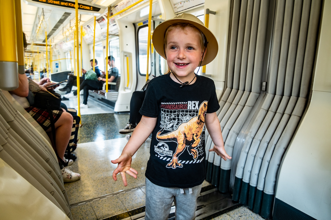 Przez Londyn najlepiej jest przejechać metrem zwanym tu The Tube.