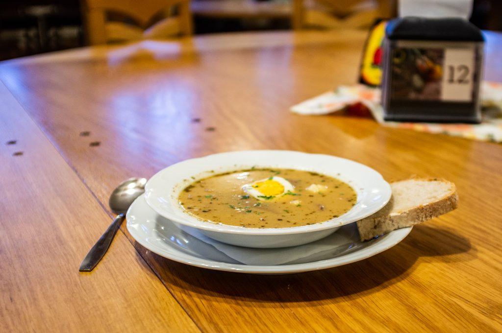 Zalewajka z Gór Świętokrzyskich – co za zupa!