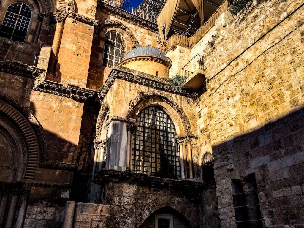Bazylika Grobu Bożego w Jerozolimie.